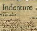 Indentured Servitude Contract